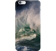 Winter Waves At Waimea Bay 9 iPhone Case/Skin