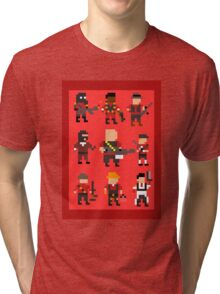 Team Fortress 2 8-Bit Red Team Tri-blend T-Shirt
