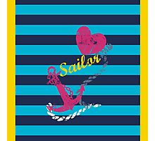 sailor love Photographic Print