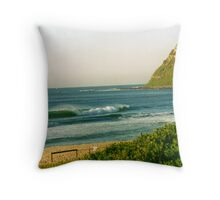 dudley beach Throw Pillow