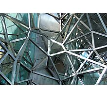 Federation Square Bared - study of the inner workings of the Atrium Photographic Print