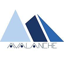Avalanche Logo Photographic Print