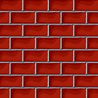 Red brick pattern by Richard Laschon