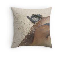 Sea Lion 2 Throw Pillow