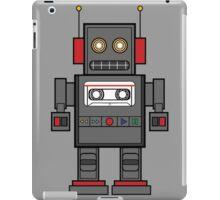 Old robot Cassette Player  iPad Case/Skin