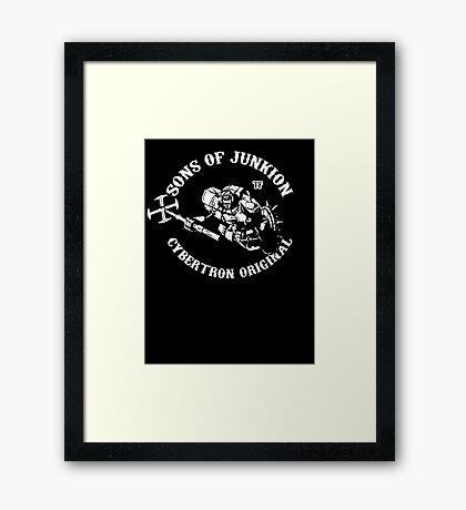 Sons Of Junkion Framed Print