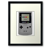 Gameboy for life Framed Print