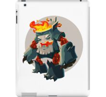 Burning Wood Man iPad Case/Skin