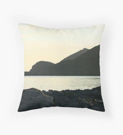 Galapagos Sunrise Throw Pillow