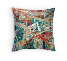 Evening Abstraction  Throw Pillow