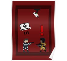 Metal Gear Solid 8-Bit Poster