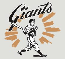 San Francisco Giants Schedule Art from 1958 T-Shirt