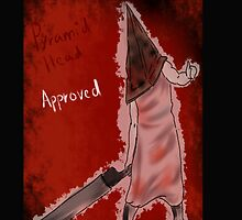 pyramid head approved  by midnight-tardis
