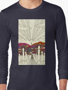 At The End Of The Road Long Sleeve T-Shirt