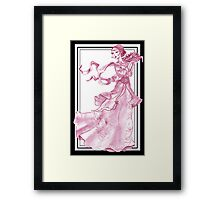 lady of the orient... Framed Print