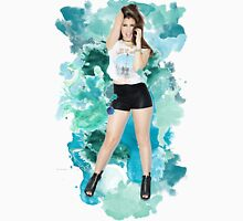 Lauren Jauregui Blue Splash!  Unisex T-Shirt