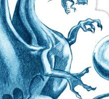 Blu Dragon Sticker