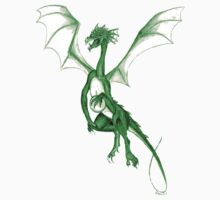 Springtime green dragon by dimarie