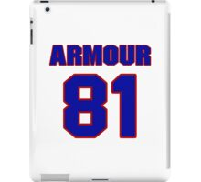 National football player Justin Armour jersey 81 iPad Case/Skin