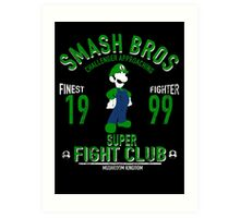 Mushroom Kingdom Fighter 2 Art Print