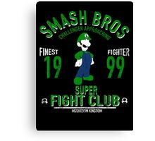 Mushroom Kingdom Fighter 2 Canvas Print