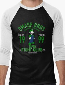 Mushroom Kingdom Fighter 2 Men's Baseball ¾ T-Shirt