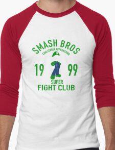Mushroom Kingdom Fighter 2 Men's Baseball ¾ T-Shirt
