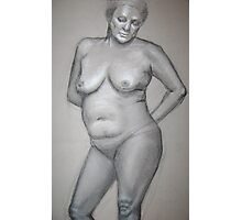 Figure Study Photographic Print