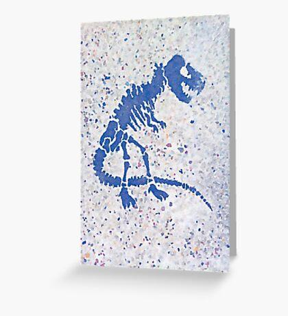 Tyrannosaurus rex | Street Portrait Greeting Card