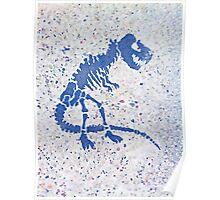 Tyrannosaurus rex | Street Portrait Poster