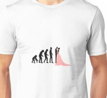 Evolution of a fool Unisex T-Shirt