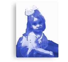 a child in tranquility  Canvas Print