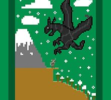 Skyrim 8-Bit by TheWangMeister