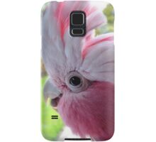 Yipeee! It's Going To Rain...Cockatoo - Rose Breasted/Galah - NZ Samsung Galaxy Case/Skin