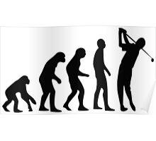 Golf evolution Poster