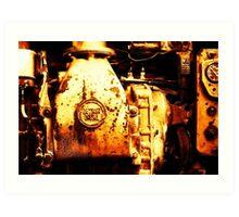 Detroit Diesel Art Print