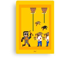 Half-Life 2 8-Bit Canvas Print