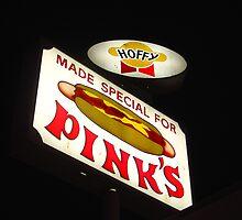 Pinks Hotdogs by Jon Androwski