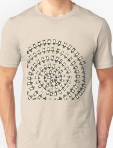 Penguin Fibonacci Unisex T-Shirt