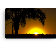 Merimbula Sunrise Canvas Print