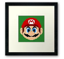 Legends of Gaming: Super Mario Framed Print