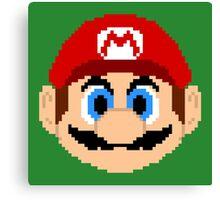 Legends of Gaming: Super Mario Canvas Print