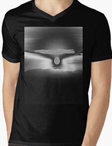 The Moon #1 Mens V-Neck T-Shirt