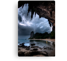 Early Monsoon Clouds Canvas Print