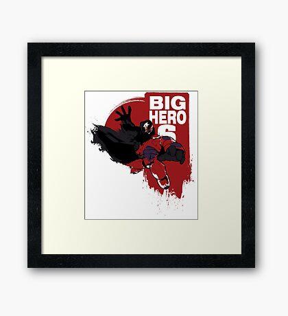 Big Hero! Framed Print