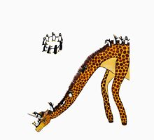 Giraffe Slide Penguins Playing T-Shirt
