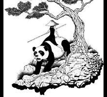 Panda ride  by CipherusLee