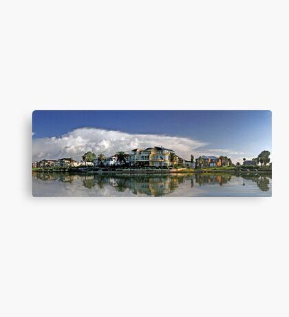 Suburban Panorama Canvas Print