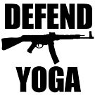 DEFEND YOGA by rule30