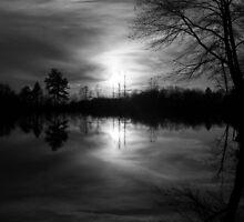 Georgia Sunset (Grayscale) by JLDunn